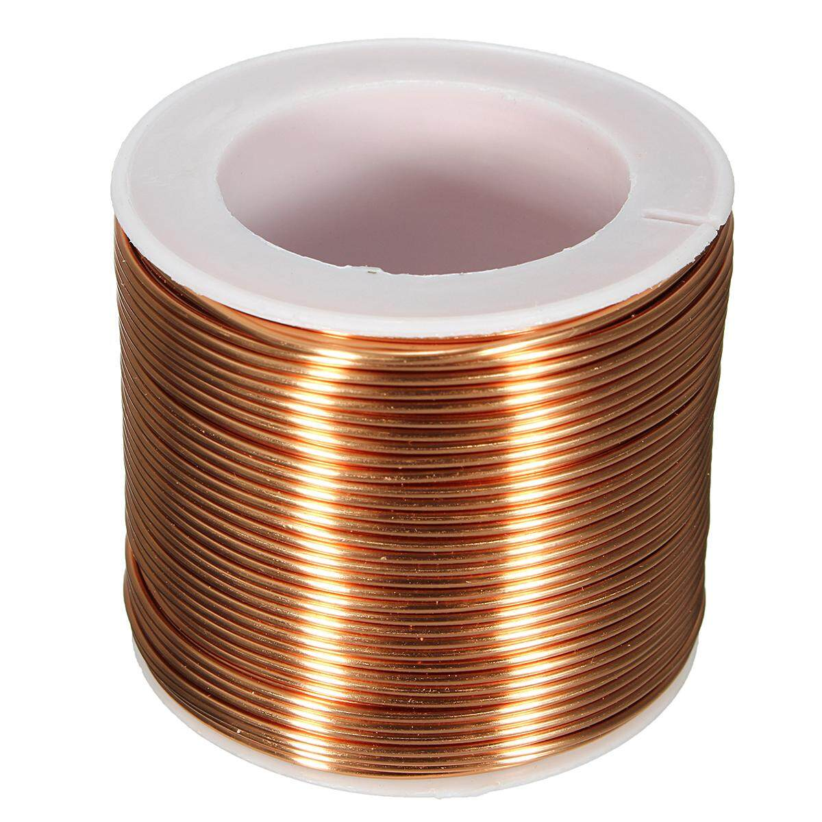 Buy SPOOL COPPER WIRE 1.0mm,18GA,25m,85ft ENAMELED COPPER coil ...