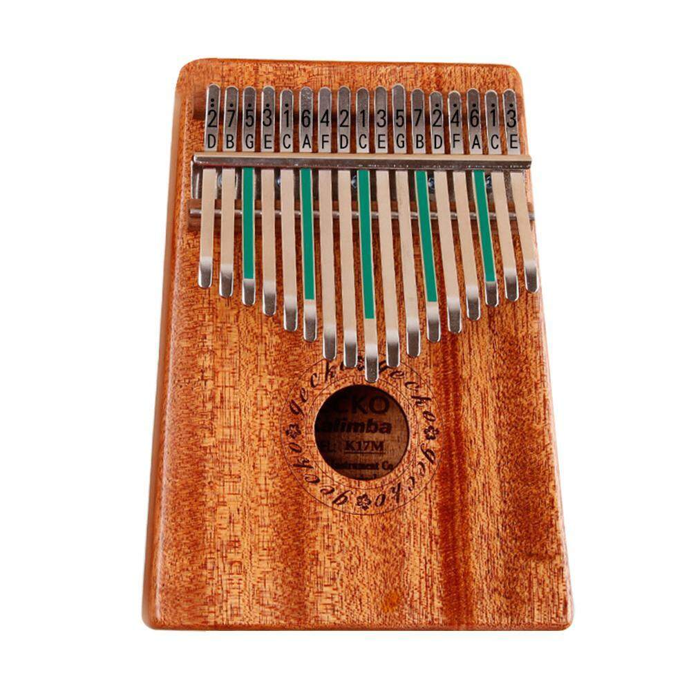 Buy Pawaca Kalimba 17 Keys Portable Thumb Piano Solid Wooden Body 17 Tone Finger Piano Mbira Sanza Acasia Intl Online
