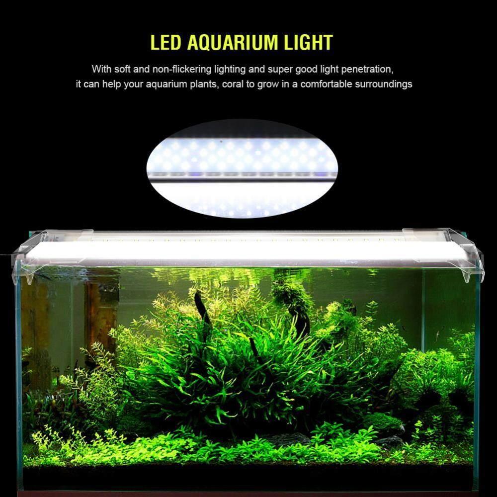1 Get Free Gift Aluminum Alloy Extendable Led Aquarium Light Fish Tank
