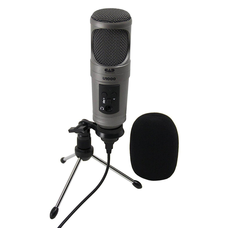 CAD U1000 USB Studio Condenser Microphone