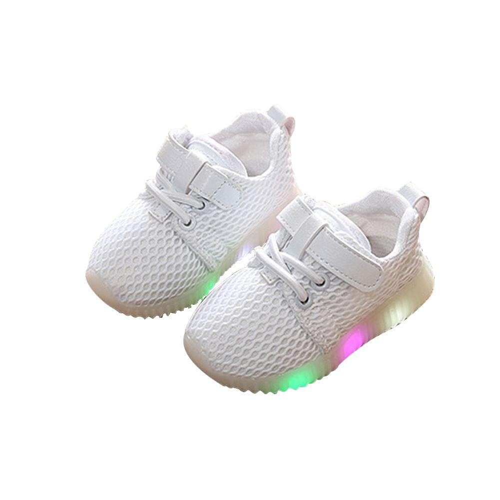 Big House Baby Boys Girls Sports Shoes Led Luminous Breathable Sneakers