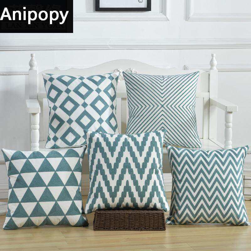 Anipopy Set of 5 Decorative Throw Pillow Case Cushion Cover 18 x 18 45cm x 45cm