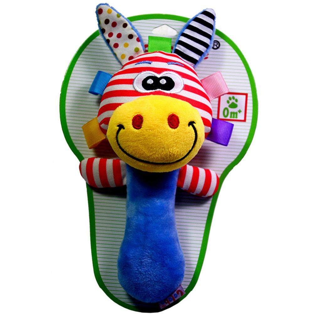 Buy Sell Cheapest Hand Bell Teether Best Quality Product Deals Mainan Boneka Bayi Rattle Gigitan Kerincingan Baby Toys Big House Kids Plush Shaking Sound Puzzle Rattles For