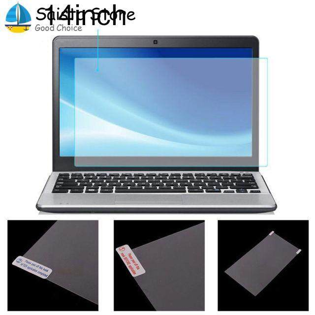Saista Notebook Sticker Laptop Protective Film Transparent 14 Inch Dustproof