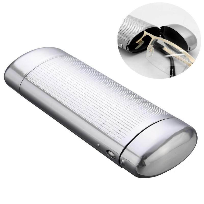 Giá bán Silver Hard Metal Glasses Case Storage Aluminum Sunglasses Case Box Protector