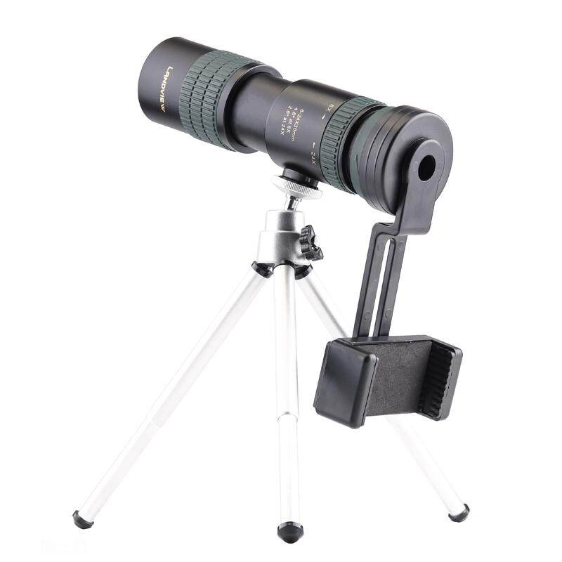 harga Original Binoculars Nikula 8-24x30 Zoom Monocular Telescope Pocket Binoculo Hunting Optical Prism Scope+ Tripod Lazada.co.id