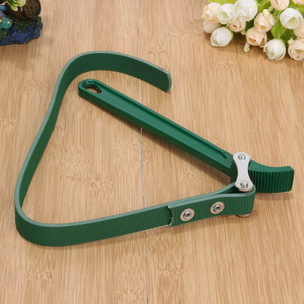 Features 8 Inch Belt Type Oil Filter Wrench Auto Tool Engine Box Fuel Spanner