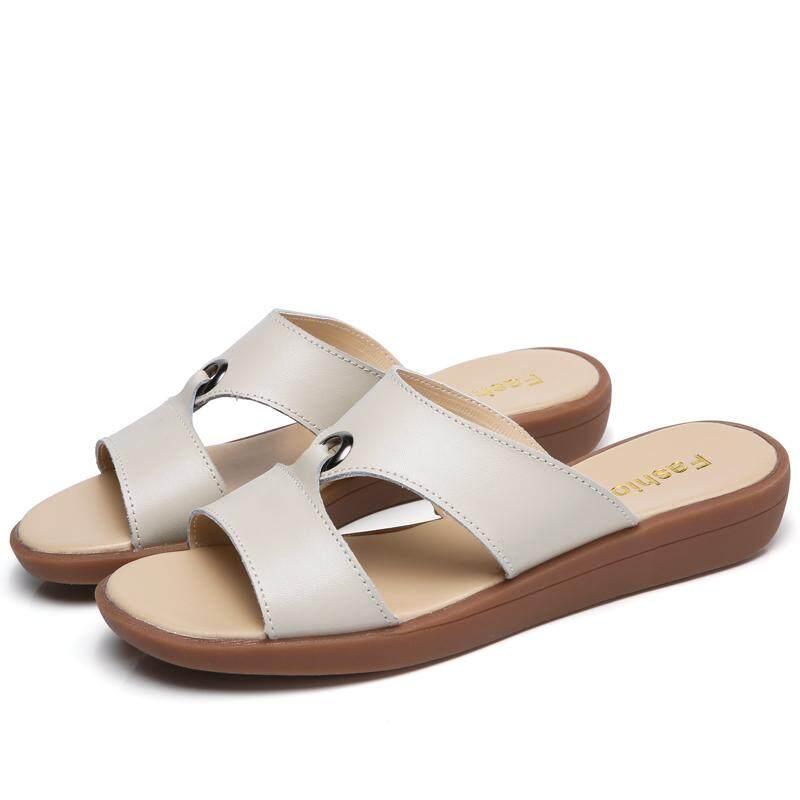 2f0fa3754804e 2018 New Fashion Summer Cork Slipper Women Casual Beach Slip On Slides Shoe  Flat with Plus