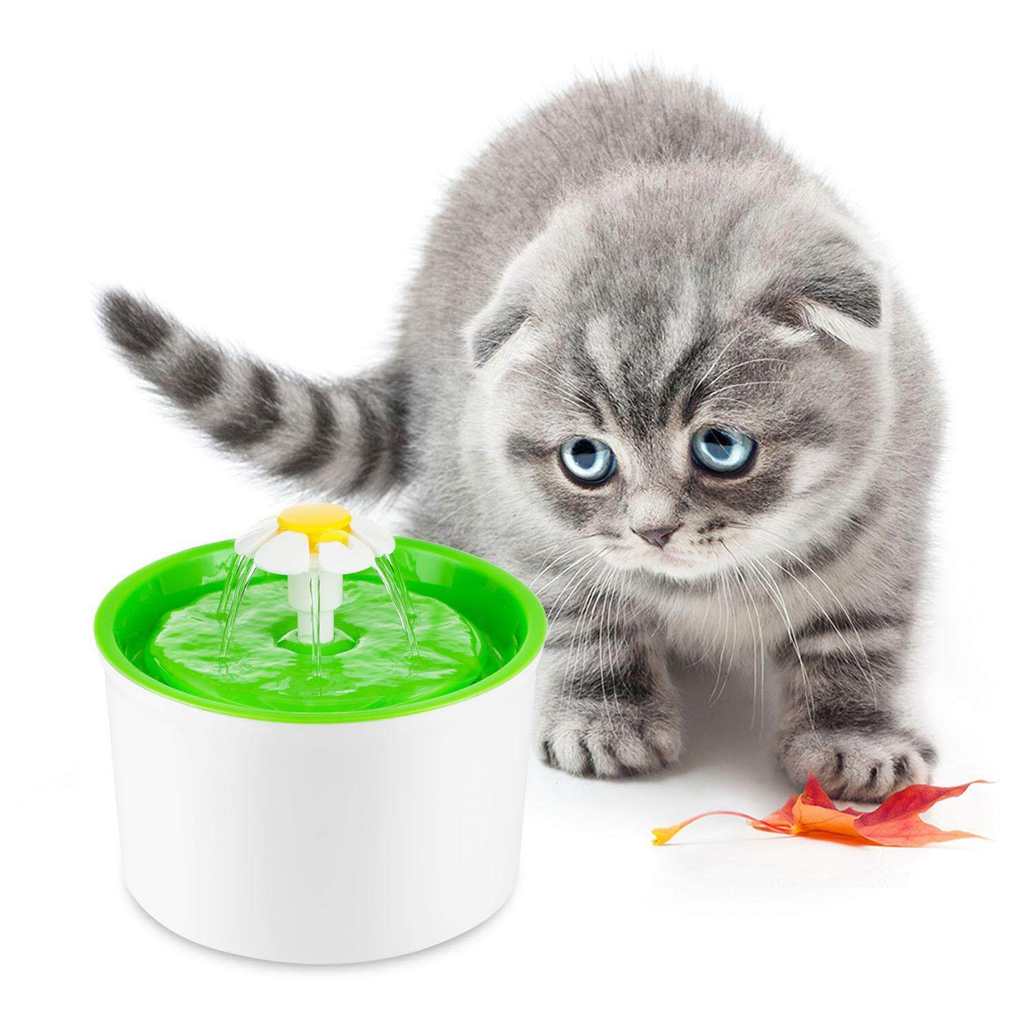 Niceeshop (uk Plug)pet Drinking Fountains,cat Water Fountain Automatic Dog Water Dispenser Super Quiet Water Bowl With Filter,54 Oz Capacity Healthy And Hygienic Drinking Whisper-Quiet Water Pumb For Puppy Kitten By Nicee Shop.