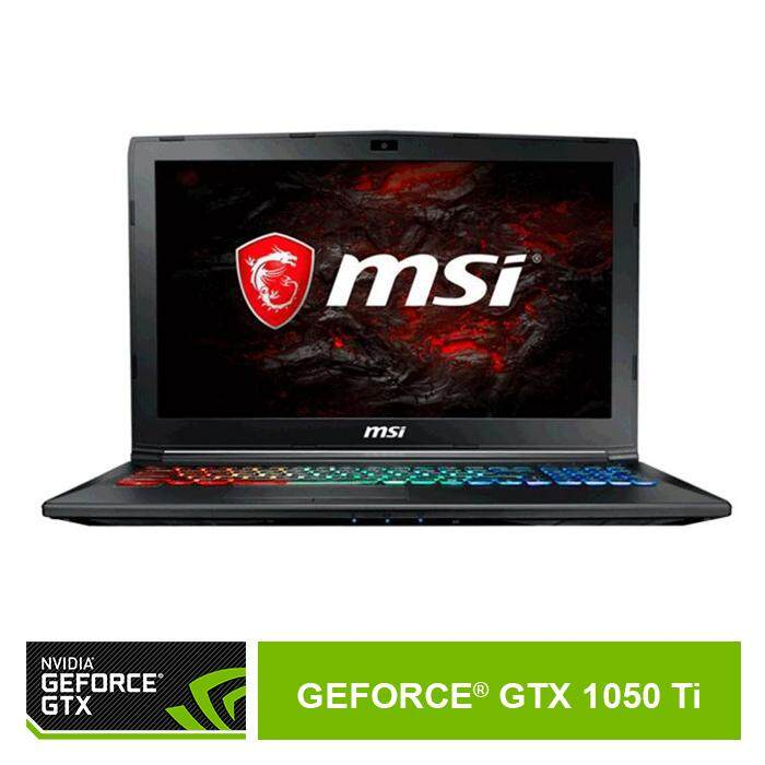 Nvidia GeForce Official Store - Nvidia Geforce GTX 1050Ti -  MSI GP62M 7REX 2621MY Malaysia