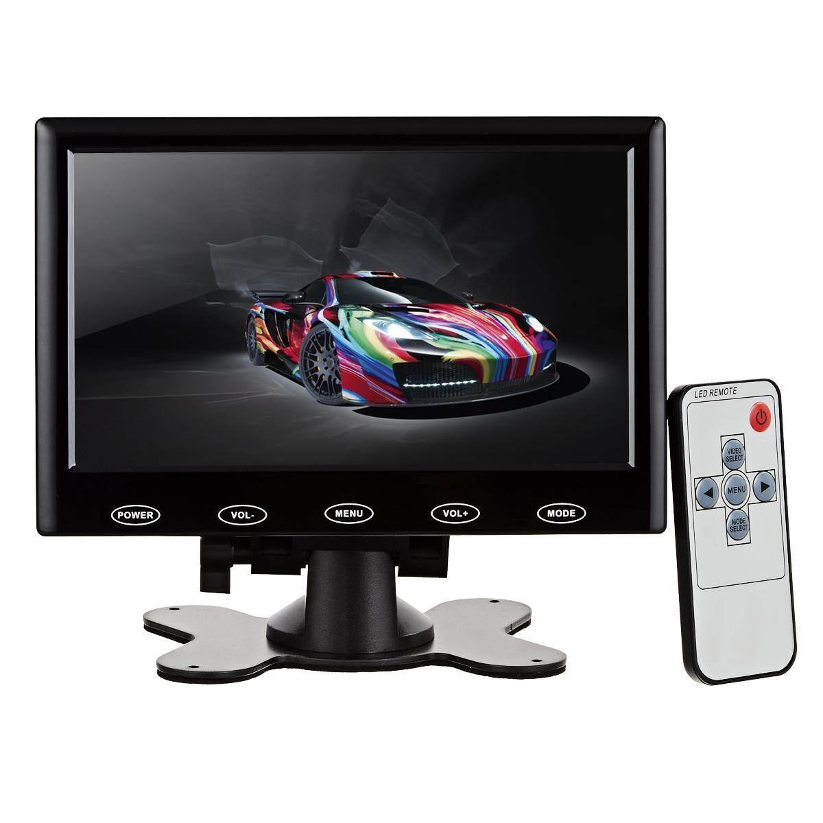 7 Hd Hdmi Lcd Monitor Layar Tampilan Dengan Vga, Hdmi, Av, Audio-Hitam-Internasional By Sea Center.