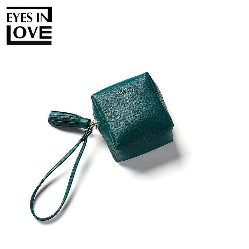 Eyes In Love Coin Purseswomen Tassel Zipper Pouches For Girls Mini Leather Wallets Gift Jy121-2 By Kerry Trading.