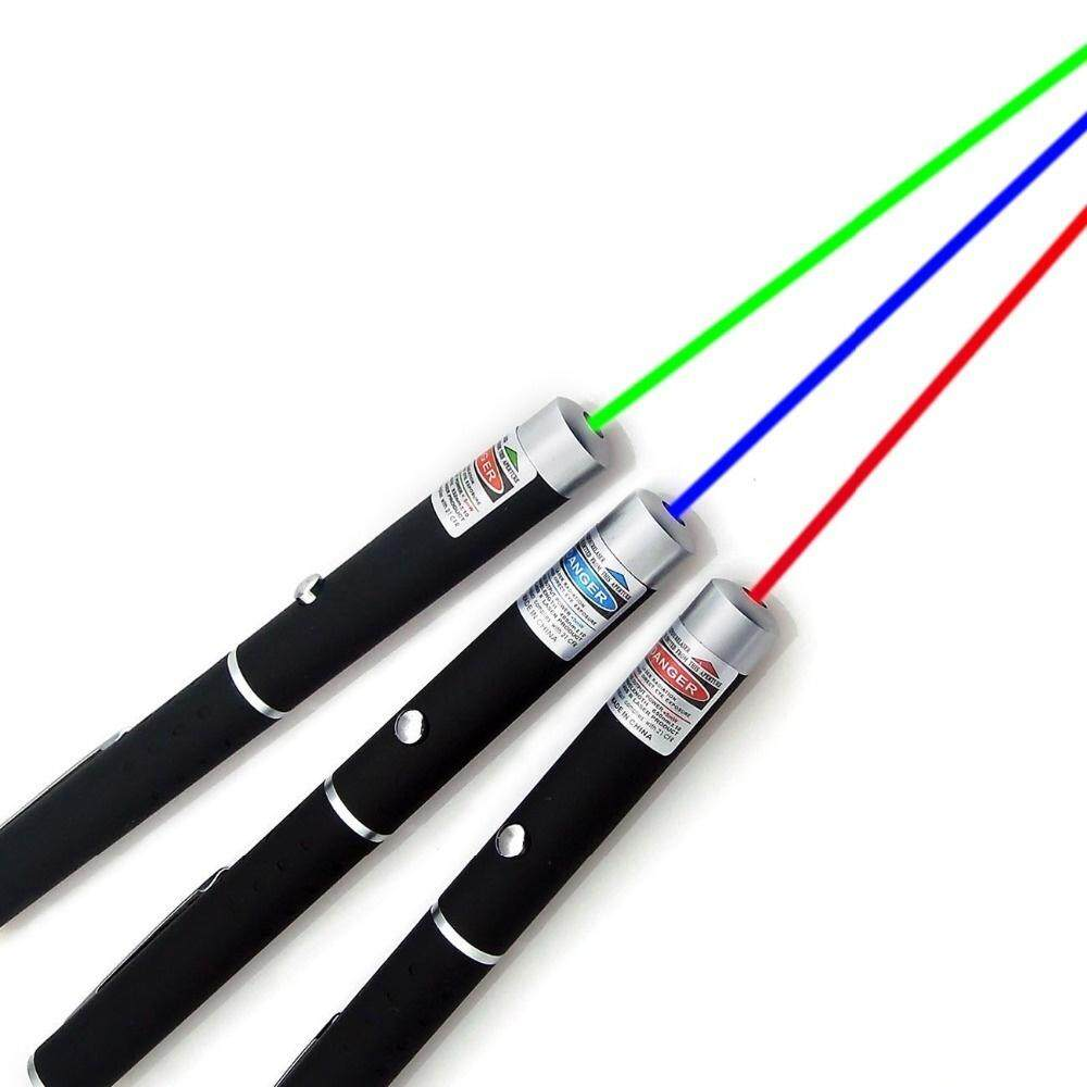 Powerful Green/Red /Blue Laser Pointer Pen Beam Light 5mW Professional Puntero Laser High