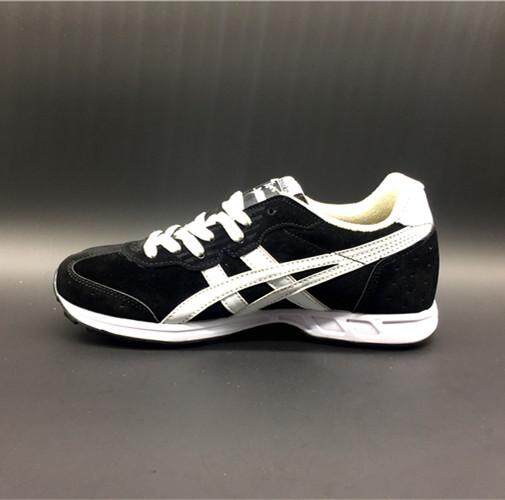 CUPSOLE Men's Sneakers NYLON New Style Sports Shoes Non-Slip Running Shoes FlyteFoam Authentic Hard-Wearing Asics-Onitsuka-Tiger Retro Black White EU:40 - intl
