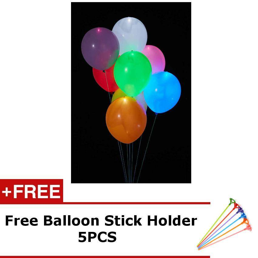Round LED Balloon (5pcs)