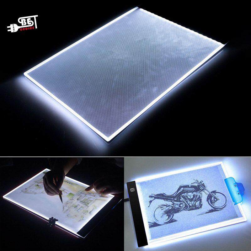 Ybc A4 Led Art Artist Tattoo Stencil Board Drawing Pad Table Box Ultra-Thin Usb Light Tracing By Your Bestchoice.