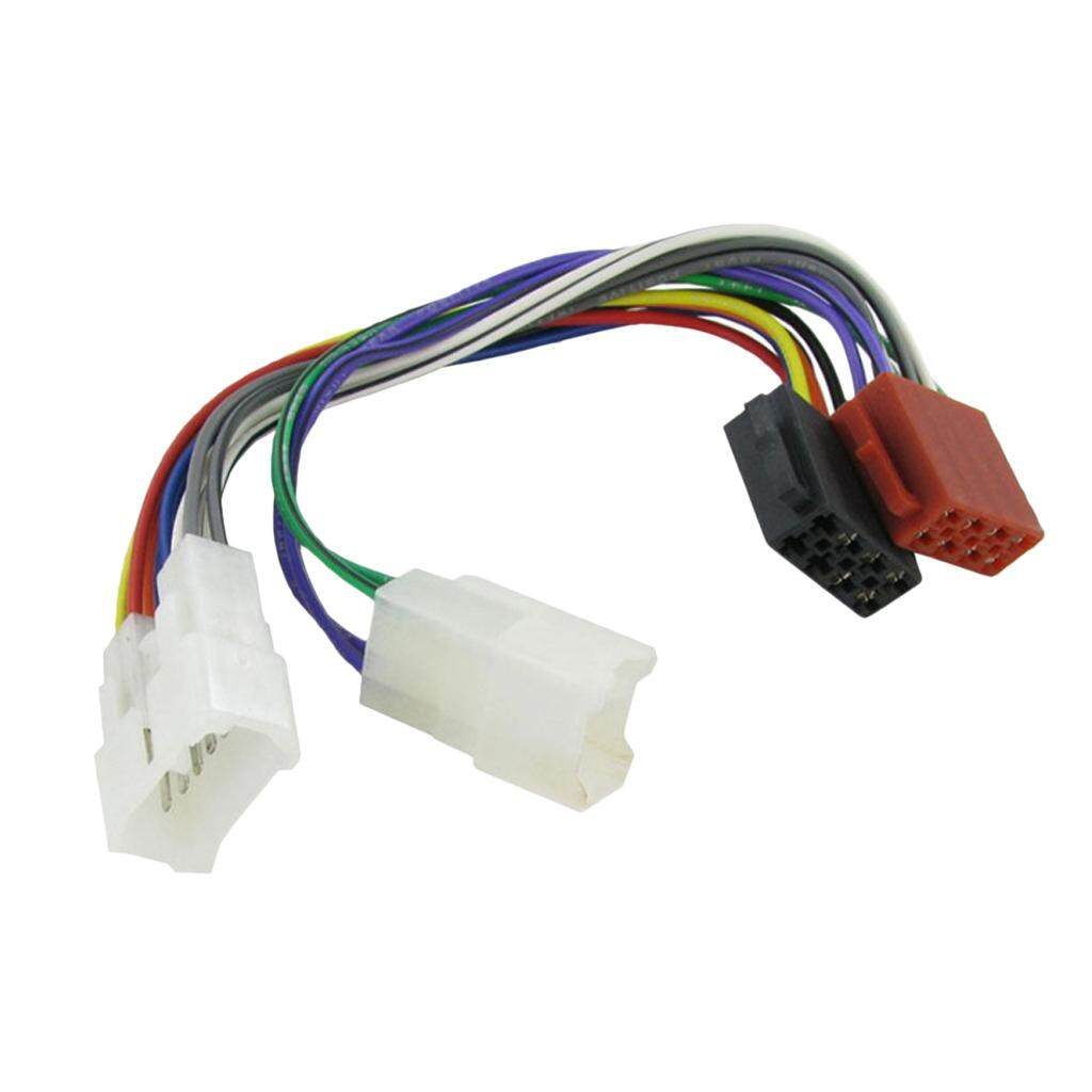 Features Universal Female Iso Wiring Harness Car Radio Adaptor For Miracle Shining Lead Adapter Toyota Stereo Plug