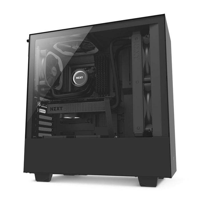 NZXT H500 Mid Tower ATX Case - Black Malaysia