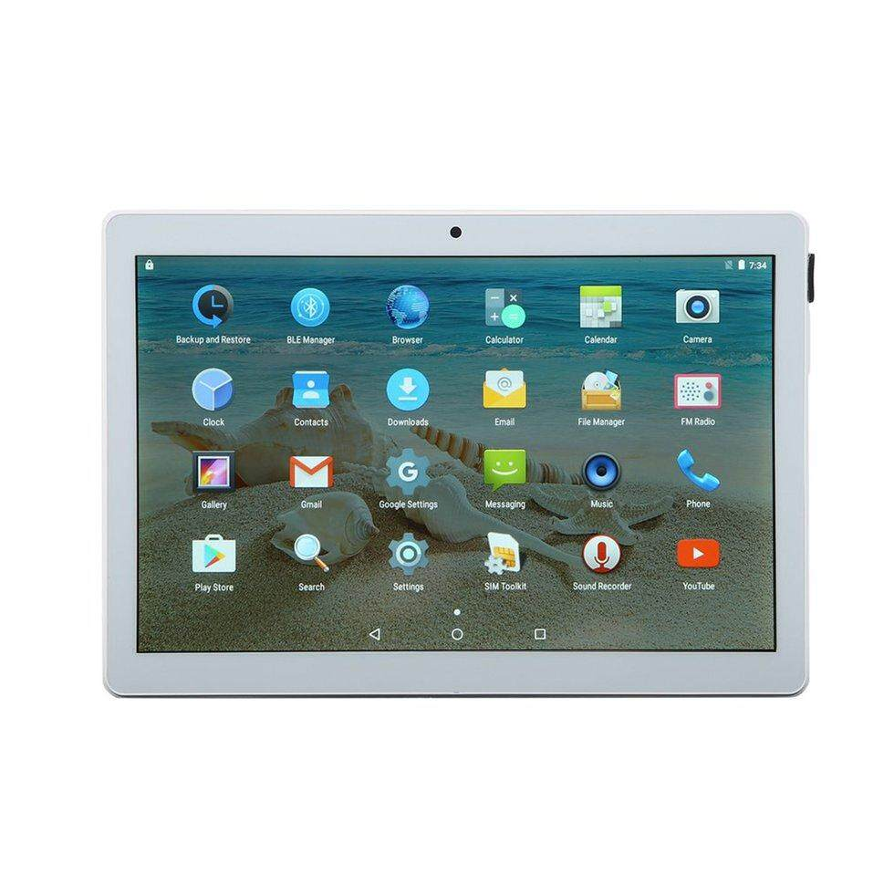 10-inch Tablet Student Tablet IPD HD Screen Bluetooth 2G +32G FOR Andriod 7.0 (Rose Gold)