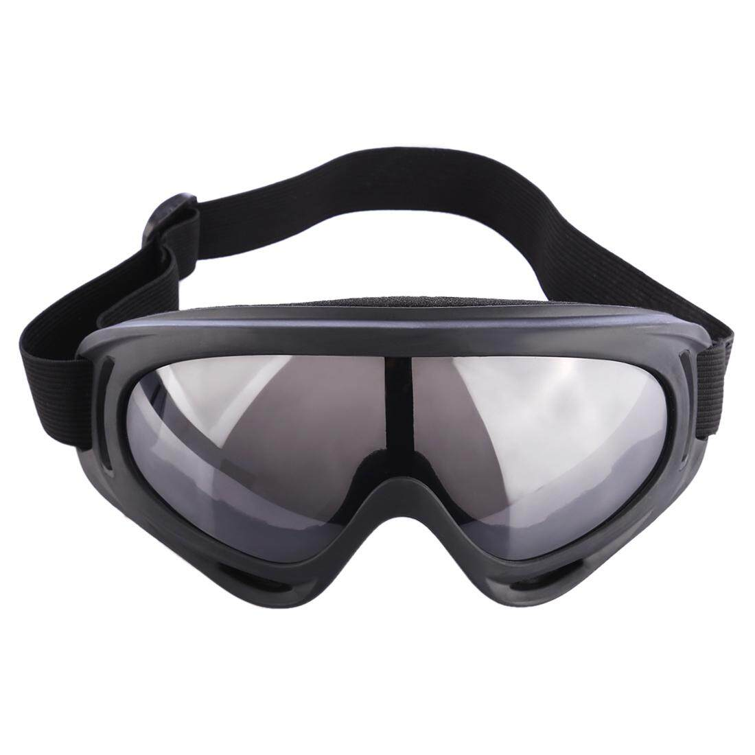 360WISH X400 Classic Style Tactical Soft Bullet Dart Explosion-proof Shock-resistant Protective Goggles for Nerf - Black-grey