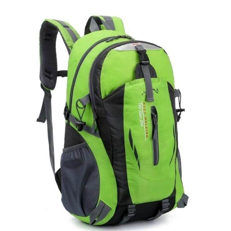Ransel Mendaki Luar Ruangan Sport Tas Hiking Perjalanan Tas Bahu 40l Unisex Pria-Intl By Mayler Store.