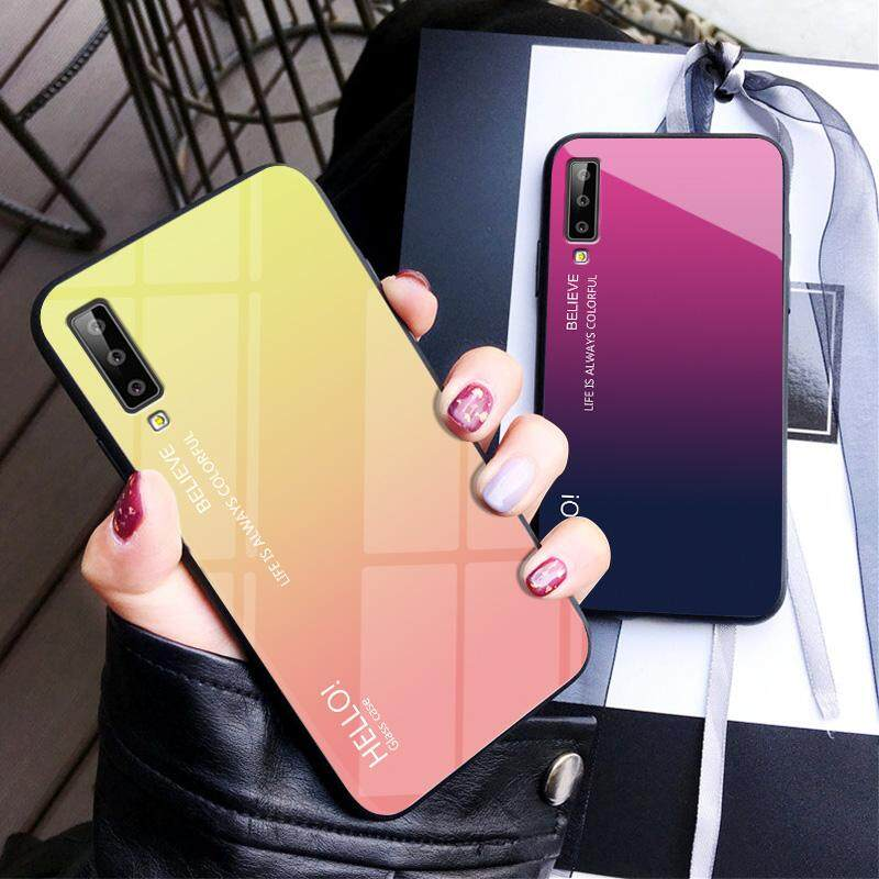 Detail Gambar For Case Samsung Galaxy A7 2018 Rugged Armor protective Back Cover Cases Terbaru