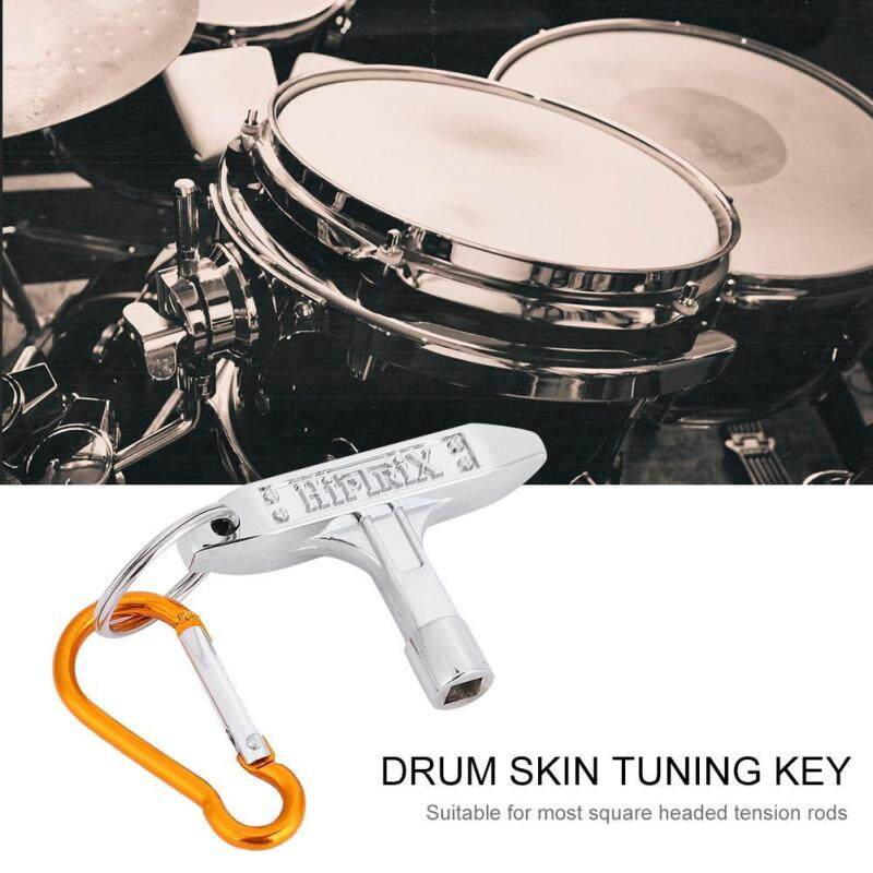 Shanyu Drum Skin Tuning Key Square Socket with Carabiner Musical Instrument Accessory