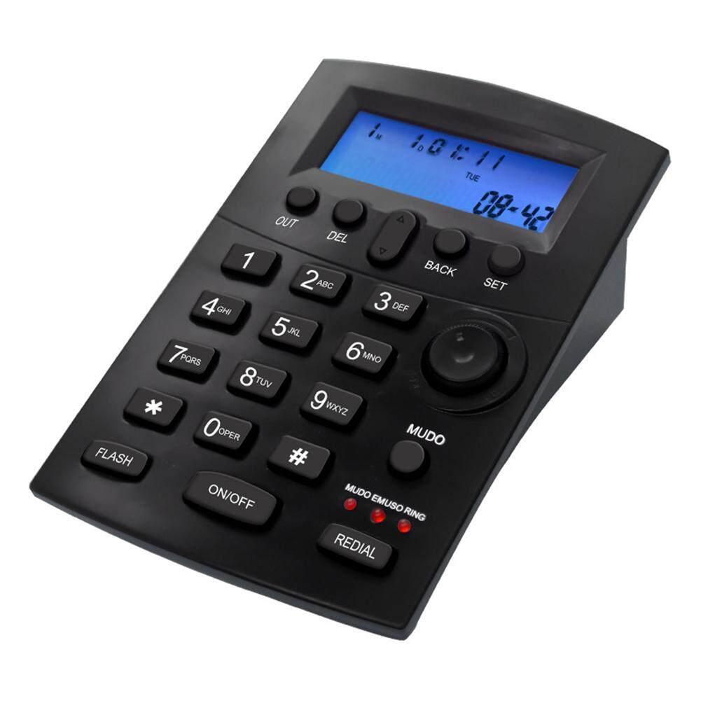 Mainan Yang Indah Praktis Bahasa Inggris Telephone Kursi Headset Perekam Telepon Rumah Hitam