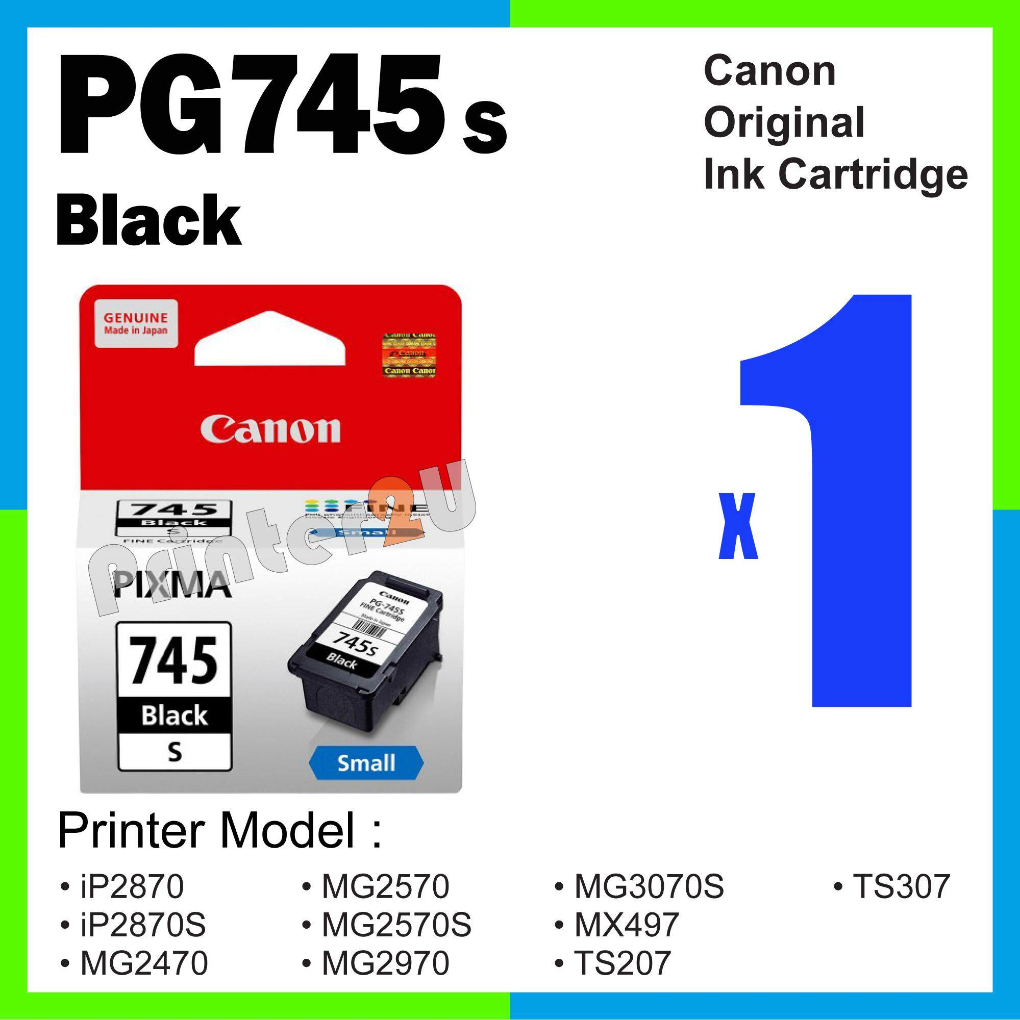 Catridge Canon Pg 47 Black Original 100 Sell Pixma Ts207 Cheapest Best Quality My Store 88 Ink Cartridgemyr49 Myr 51