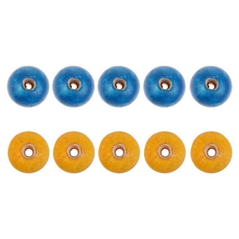 MagiDeal 10 Pcs Swimming Pool Lane Line Training Rope Water Ski Racing Divider Float Balls 5 Blue and 5 Yellow