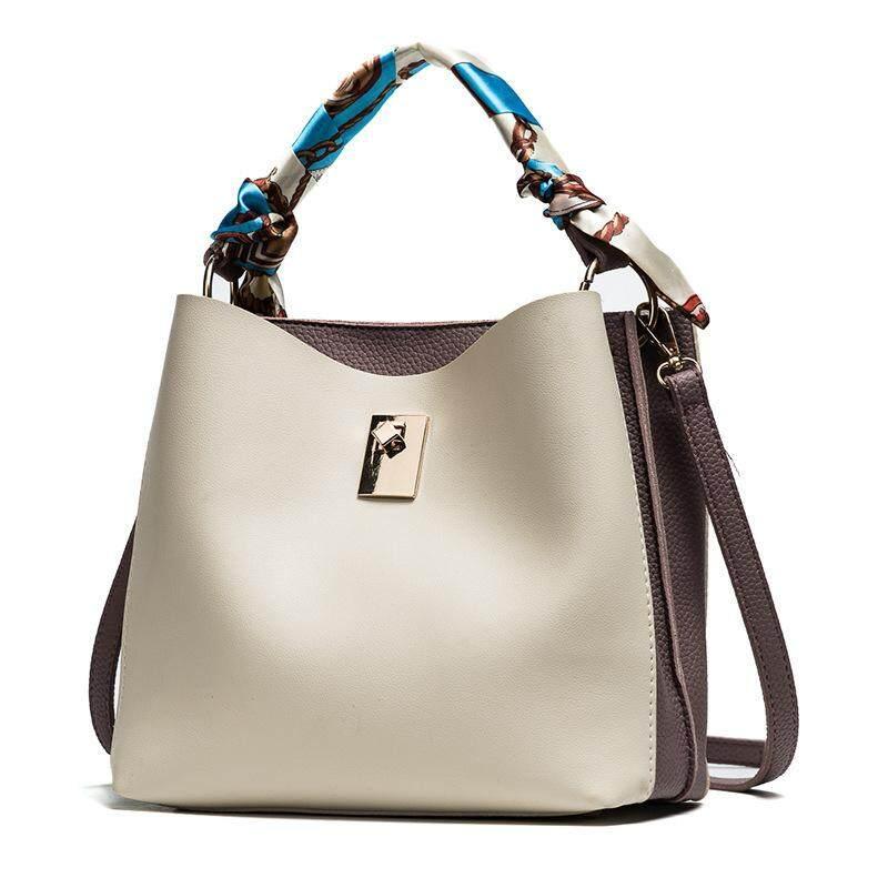 75bb7282d6 Color Bucket Bag Fashion Handbag for Single Shoulder Slung Shoulder Bag  Women Bag