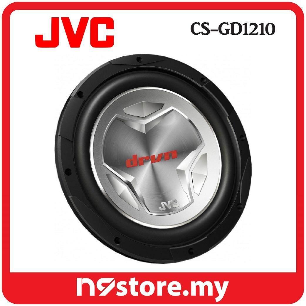 """JVC CS-GD1210 G Series 12"""" 30 cm Dual Voice Coil 4 ohm Car Subwoofer 400W RMS"""