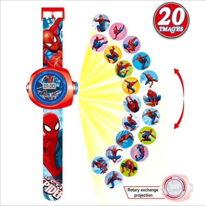 Cartoon Projection Led Projector 20 Images Children Toy Projection Watch Christmas Gift - intl bán chạy
