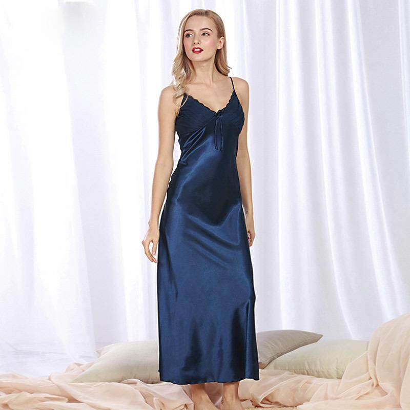 Summer Wommen Pajamas Night Dress Sleeveless V-neck Nightgown Large Plus  Size Pyjamas Nightdress Sleepwear 43a01490a