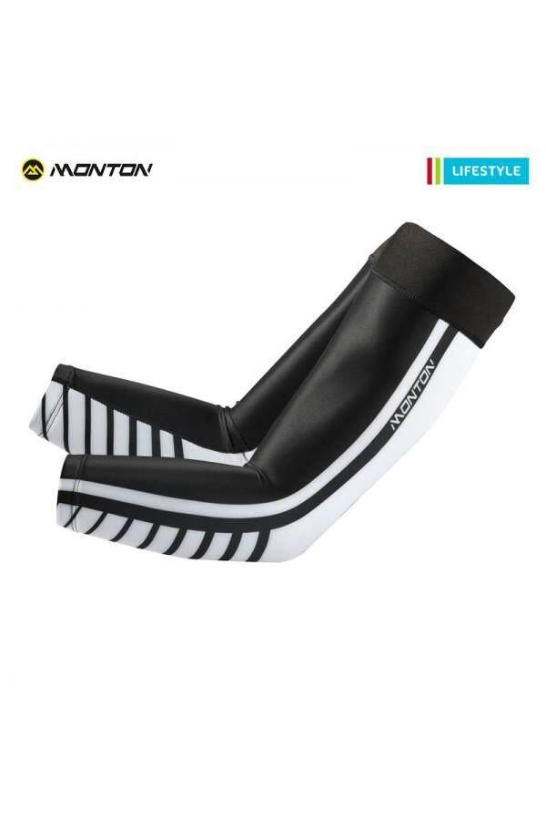MONTON  CYCLING ARM COOLERS LIFESTYLE HAFEET 2 BLACK WHITE
