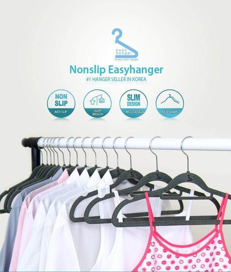 3 Non-Slip Velvet Hangers