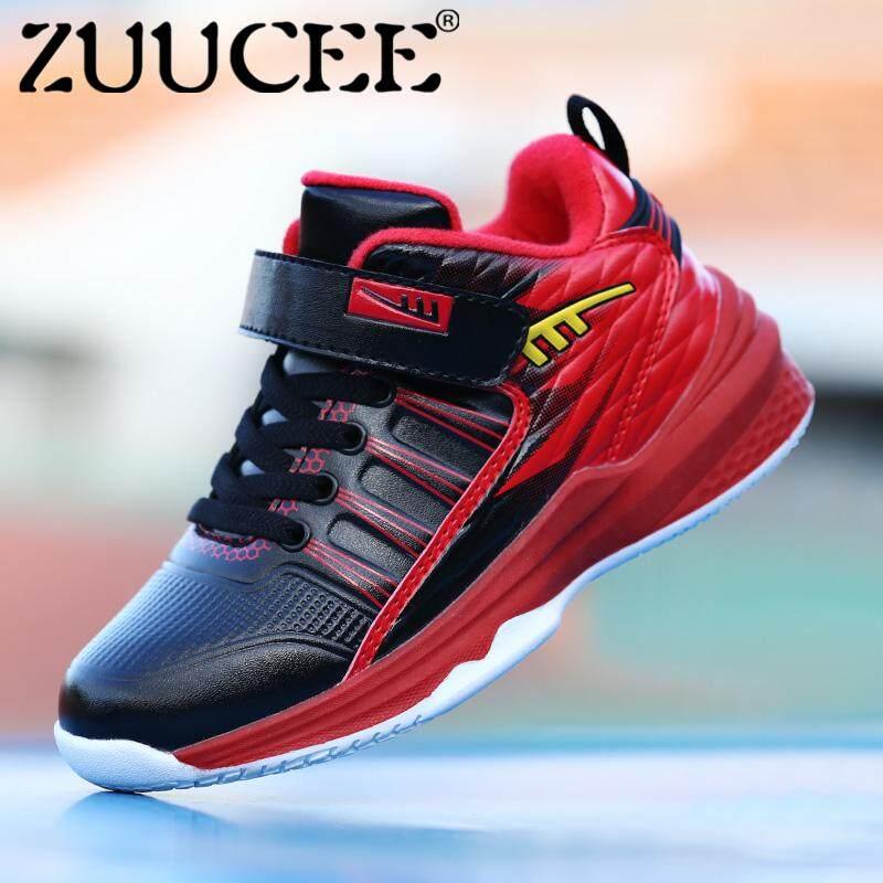 Zuucee Fashion Anak Laki-laki Sepatu Basket Olahraga Kasual Sepatu Sepatu  Lari Luar Ruangan Sepatu 9968f3d736