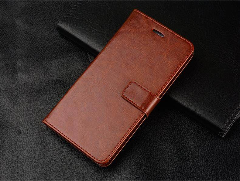Luxury Leather Wallet Flip Cover Card Slots Phone Case for Gionee F103