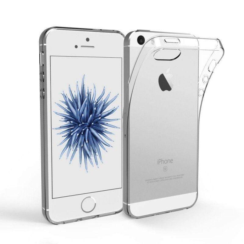 Tpu Silicone Case For Iphone 5 / 5s (transparent) By Tradeshoppe.