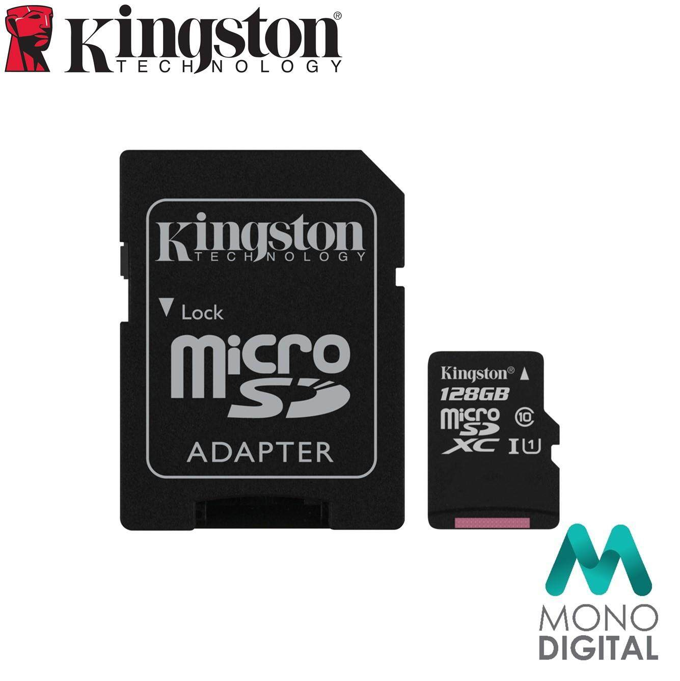 Features Kingston Canvas Select Sd 16gb 80mb S Sdhc Class10 Uhs I U1 Sandisk Ultra Class 10 Memory Card 128gb Microsdxc Sdcs