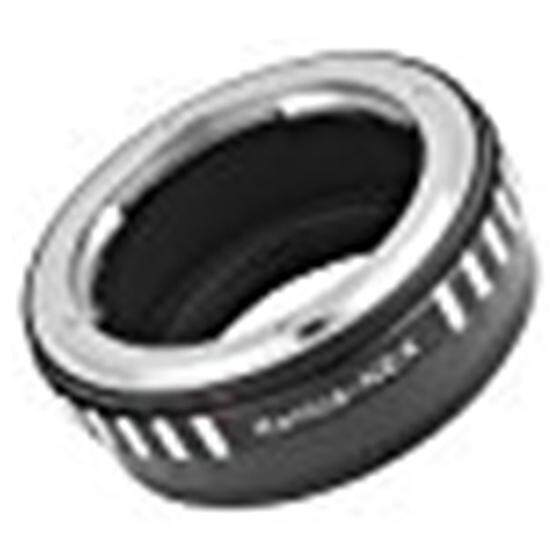 Hitam Konica AR Adaptor Lensa untuk Sony NEX-3 5 6 7 VG10 VG20 Dudukan Kamera DC308-Intl