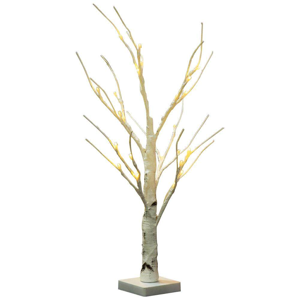 White Branches Durable Indoor Warm White LED Light Silver Birch Twig Tree Home Singapore
