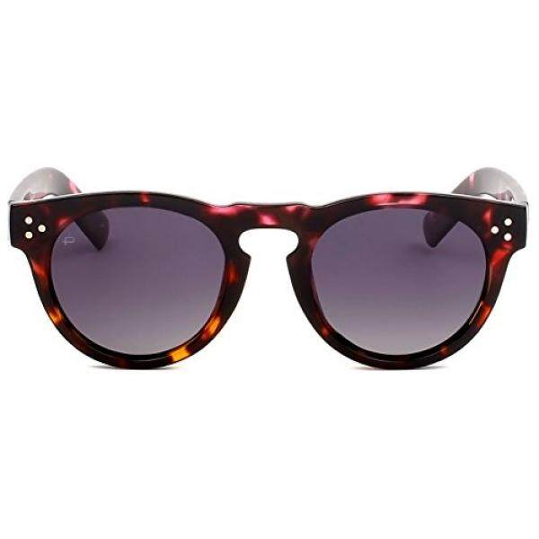 """PRIVÉ REVAUX ICON Collection """"The Warhol"""" Handcrafted Designer Round Polarized Sunglasses - intl"""