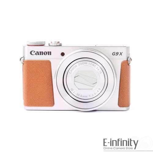 Canon PowerShot G9X Mark II Digital Camera (Silver) G9 X II