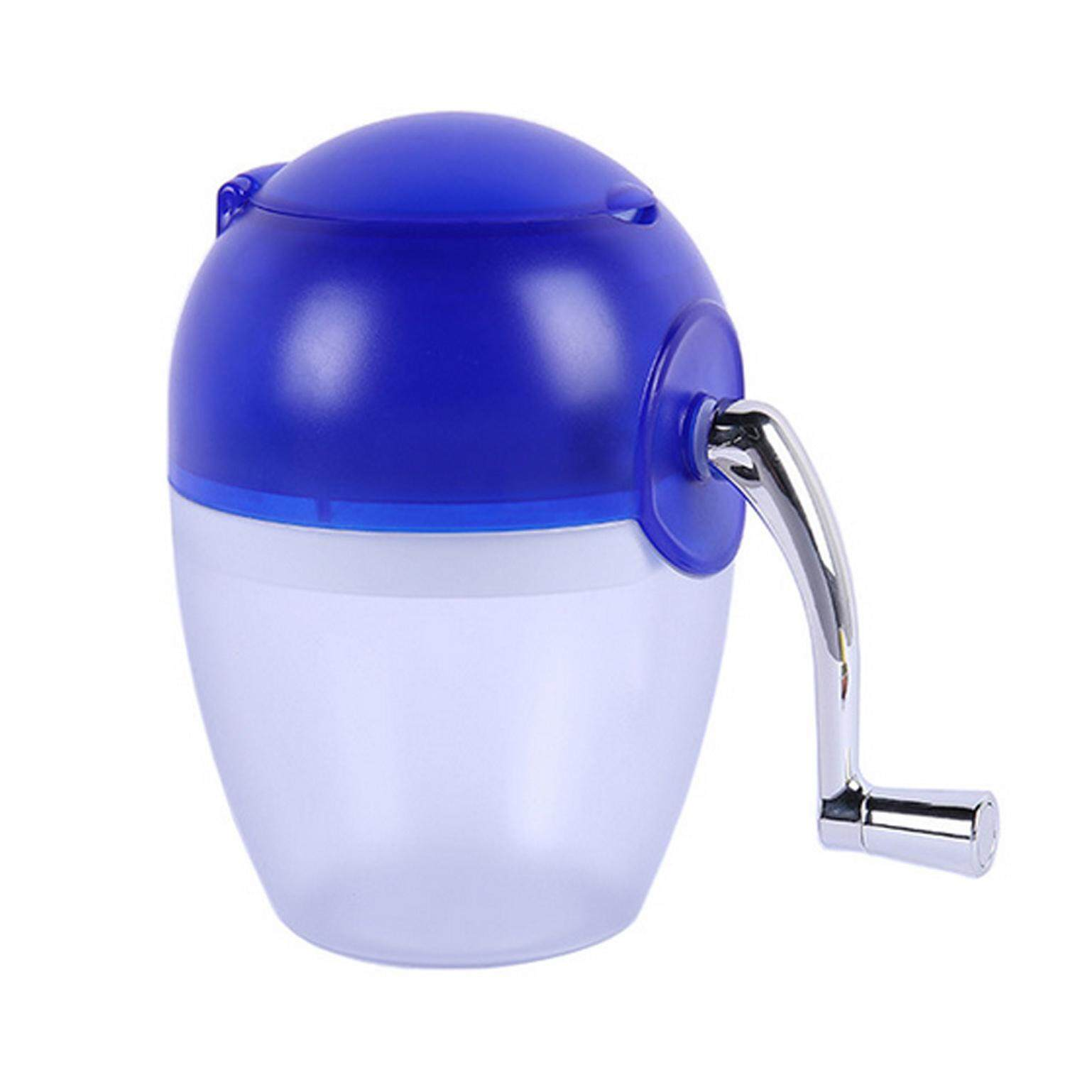 Mini Manual Hand Crank Ice Crusher Ice Grinder Shaver Machine Tool Home Kitchen Accessories for Smoothie