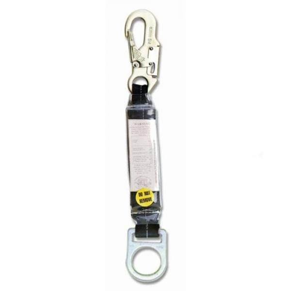 [From.USA]Guardian Fall Protection 01205 18-Inch Shock Absorbing Extension Lanyard with Snaphook End B004YV37DI - intl