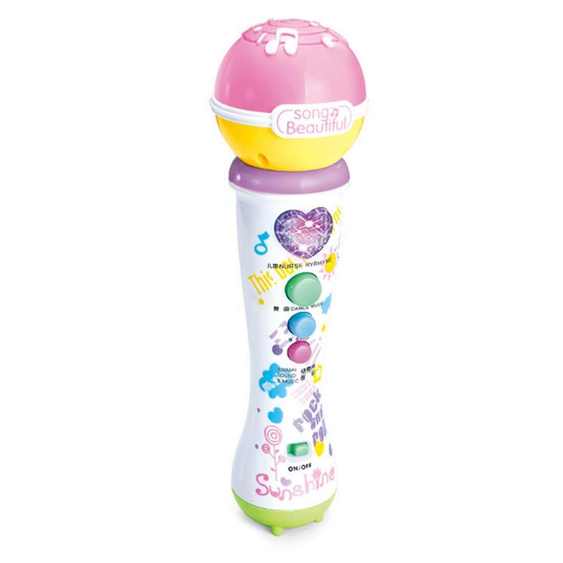 Hình ảnh 360DSC Children Funny Microphone Lovely Educational Safety Plastic Toy - Color Random - intl
