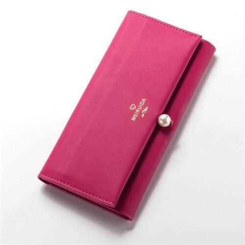 NV005 WLT-027 Big Space Women's Card Holder Coin Zipper Wallet Purse