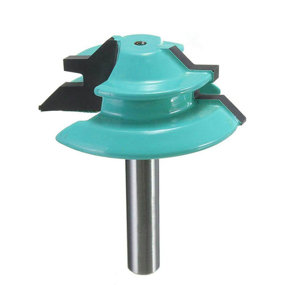 Wood Cutter Tools 45 Degree Lock Miter Router Bit 1/4 Shank 1-1/2 Diameter