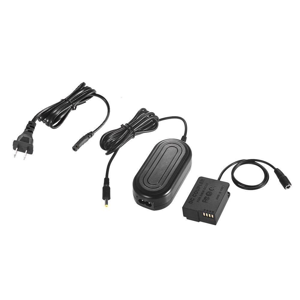 Andoer DMW-AC8 Adaptor Adaptor Daya AC Pengisi Daya Kamera + DMW-DCC8 DC Coupler Perlengkapan (DMW-BLC12 Penggantian) untuk Panasonic DMC-FZ200, FZ1000, GH2, G5, G6, G7, Lumix GX8, g85 Kamera Digital-Internasional